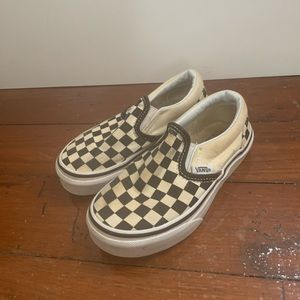 Kids checkered vans